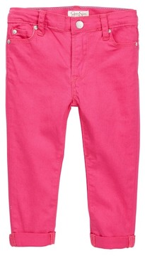 Jessica Simpson Rolled Cuff Jean (Toddler Girls)