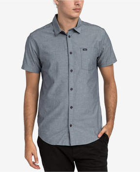 RVCA Men's Arrows Geo-Print Button-Down Shirt