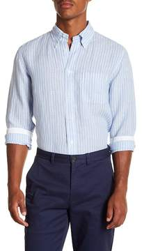 Brooks Brothers Striped Long Sleeve Sport Fit Shirt