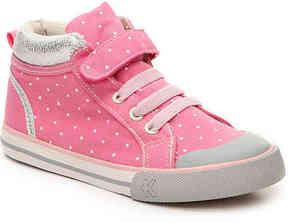 See Kai Run Girls Peyton Toddler & Youth High-Top Sneaker