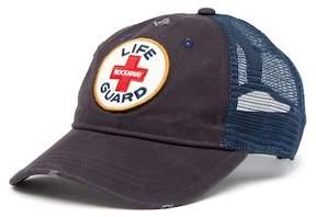 Steve Madden Life Guard Patch Baseball Hat