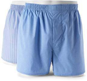 Hanes Big & Tall Classics 2-pack Pima Stretch Boxers