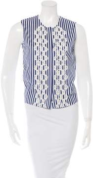 Vanessa Bruno Striped Sleeveless Top