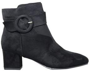 Impo Womens Espie Suede Almond Toe Ankle Fashion Boots.
