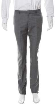 Calvin Klein Collection Skinny Flat Front Dress Pants