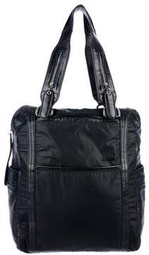 See by Chloe Leather-Trimmed Nylon Tote