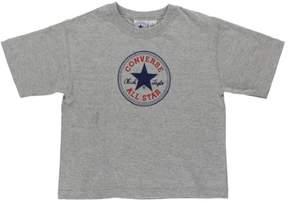 Converse Chuck Taylor Womens T-Shirt Grey L