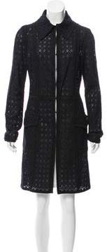 Andrew Gn Lightweight Lace Coat