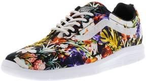 Vans Iso 1.5 Cuban Floral Black / True White Ankle-High Canvas Skateboarding Shoe - 9M 7.5M