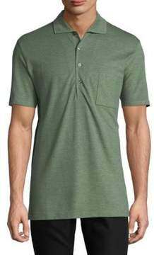 Luciano Barbera Short Sleeve Cotton Polo
