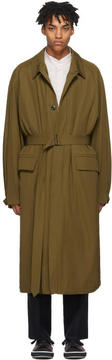 Lemaire Tan The Great Raincoat Coat