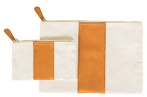 Cathy's Concepts Personalized Faux Leather Clutch - Brown