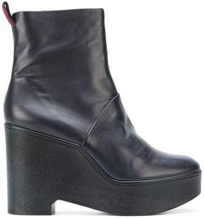 Robert Clergerie wedge boots