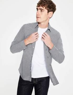 Boden Linen Cotton Pattern Shirt