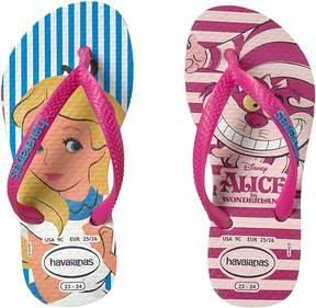Havaianas Slim Alice Flip Flops (Toddler/Little Kid/Big Kid)