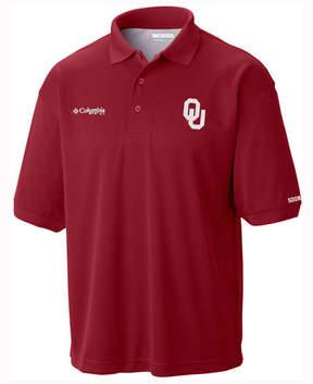 Columbia Men's Oklahoma Sooners Collegiate Perfect Cast Polo Shirt