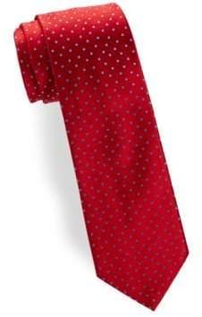 Charvet Medium Dot Silk Narrow Tie