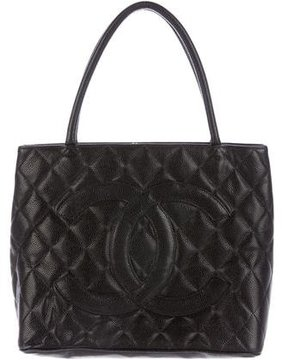 Chanel Quilted Medallion Tote