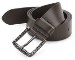 Diesel Five-Notch Leather Belt