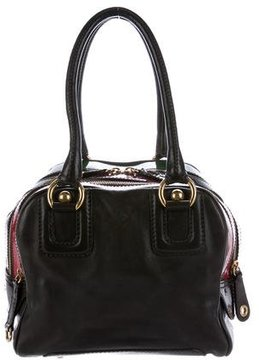 Dolce & Gabbana Lily Leather Bag - BROWN - STYLE