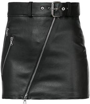 Amiri biker mini skirt