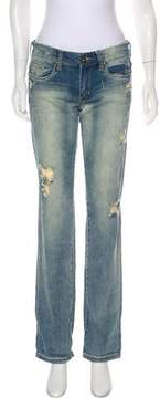 Blank NYC Distressed Mid-Rise Jeans w/ Tags