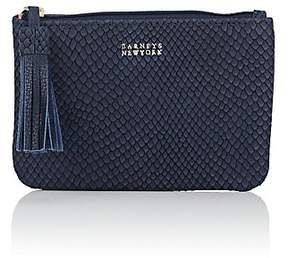 Barneys New York SMALL LEATHER ZIP POUCH