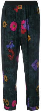 Diesel floral print trousers