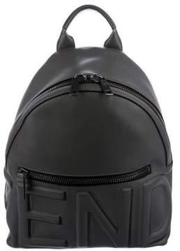 Fendi Embossed Logo Backpack