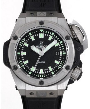 Hublot Big Bang King Oceanographic 731.NX.1190.RX Titanium Black Dial 48mm Mens Watch