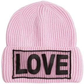 Love Knitted Wool Beanie Hat