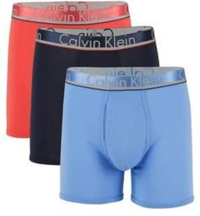Calvin Klein Underwear Comfort Microfiber Boxer Briefs/3-Pack
