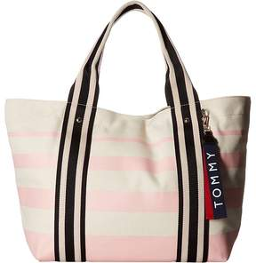 Tommy Hilfiger Classic Painted Stripe Tote Tote Handbags