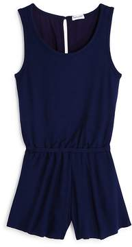 Splendid Girls' Ribbed Romper - Big Kid
