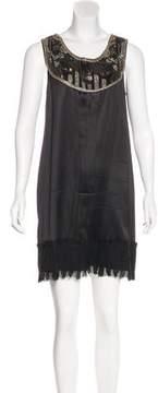 Matthew Williamson Embellished Mini Dress