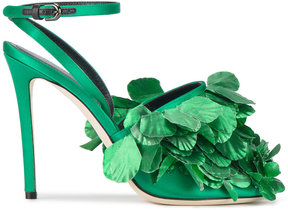 Marco De Vincenzo clustered leaf sandals