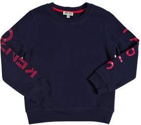 Kenzo Logo Printed Cotton Sweatshirt