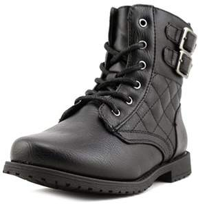 Rachel Lil Apollo Toddler Round Toe Synthetic Black Boot.