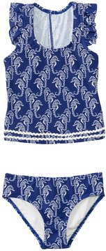 Hula Star Girls' Chatty Seahorse Tankini Two Piece Set (2yrs6yrs) - 8138125