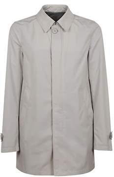 Herno Men's Grey Polyamide Outerwear Jacket.