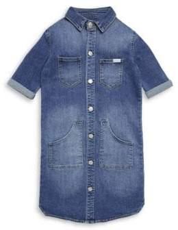 7 For All Mankind Girl's Denim Dress