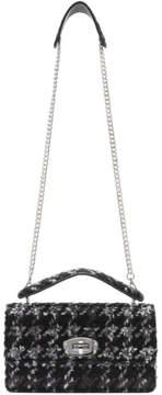 Miu Miu Black and Grey Tweed Bag