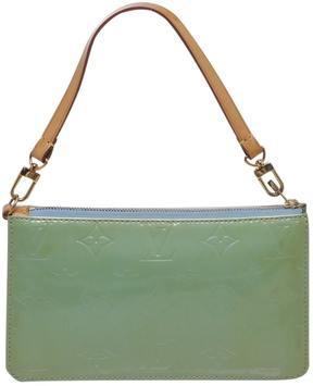 Louis Vuitton Pochette Accessoire patent leather handbag - GREEN - STYLE