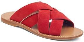 Marc Fisher Women's Raida Suede Slide Sandals