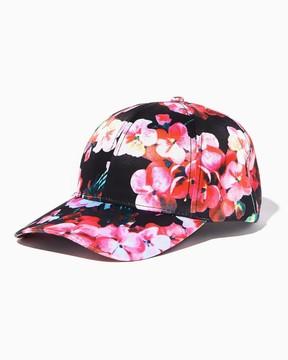 Charming charlie Floral Baseball Cap
