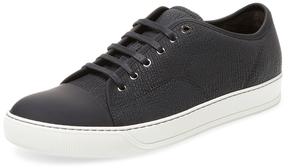 Lanvin Men's Embossed Low Top Sneaker