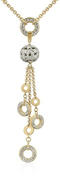 A-Z Collection Gold-plated Drop Necklace