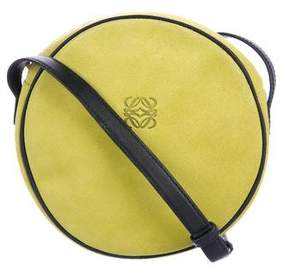 Loewe Suede Circle Crossbody Bag