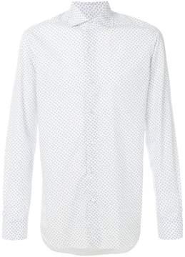 Barba micro printed shirt