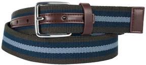 Asstd National Brand Dallas + Main Casual Striped Belt